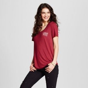 Fifth Sun Maroon Tee